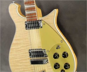 ❌ SOLD❌  Rickenbacker 660/12 Solidbody Electric 12 Natural Maple, 2009