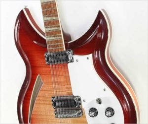❌ Sold ❌ Rickenbacker Model 381-12 V69 12 String Thinline Electric FireGlo, 1998