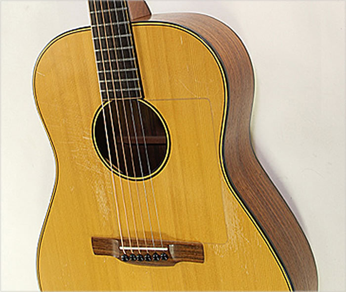 robert laughlin steel string acoustic guitar 1983. Black Bedroom Furniture Sets. Home Design Ideas