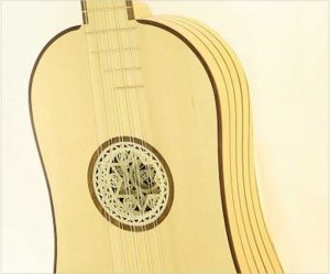 Roosebeck 5 Course Baroque Guitar, Lacewood - The Twelfth Fret