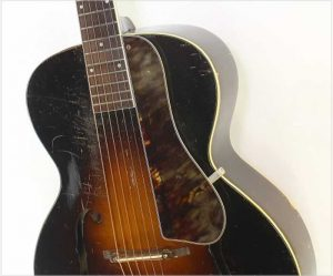 SS Stewart Model 4024 Archtop Guitar Sunburst, 1930s - The Twelfth Fret