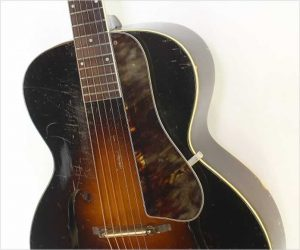 SS Stewart Model 4024 Archtop Guitar Sunburst, 1930s
