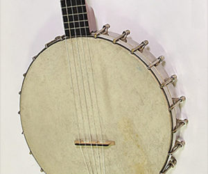 SOLD!!! S S Stewart The Amateur Open Back Banjo, 1899