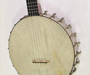 SOLD!!! S S Stewart The Amateur Open Back Banjo, 1899