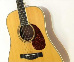 ❌SOLD❌ Santa Cruz D Model Acoustic Guitar Natural, 2010