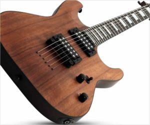 Schecter C-1 Koa Electric Guitar
