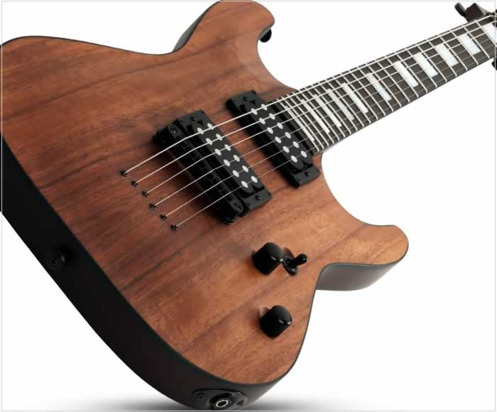 Schecter C-1 Koa Electric Guitar - The Twelfth Fret