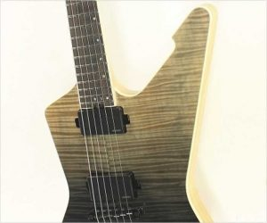 Schecter E1 SLS Elite Through-Neck Electric Black Fade Burst
