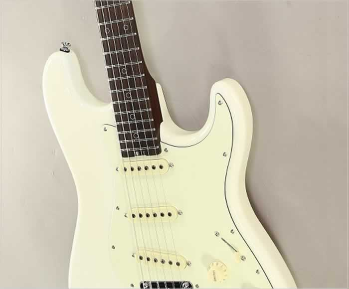 Schecter Nick Johnston USA Signature Guitar Atomic Snow, 2018 - The Twelfth Fret