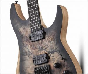 Schecter R Reaper-6 in Satin Charcoal Burst