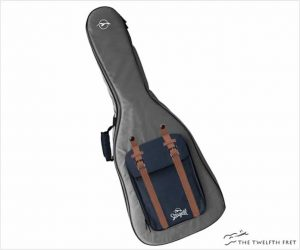 Seagull Backpack Guitar Gig Bag Grey/Navy