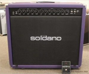 Soldano Lucky 13 50 Watt 2x12 Combo Amp Purple, 2008