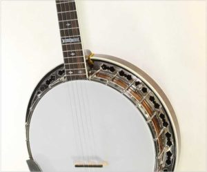 Stelling Whitestar 5-String Banjo, 1983 -The Twelfth Fret