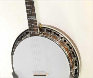 Stelling Whitestar 5-String Banjo, 1983
