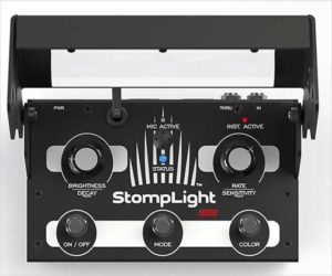 StompLight DMX Lighting Effect Pedal - Professional