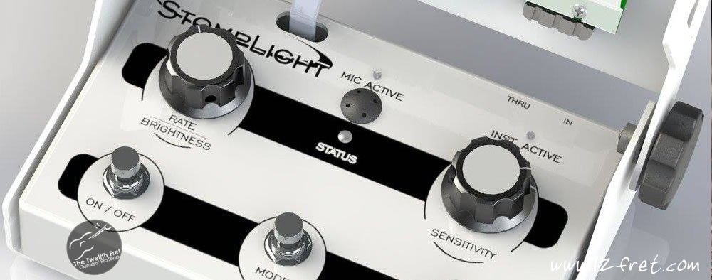 StompLight® DMX Lighting Effect Pedal - Professional - The Twelfth Fret
