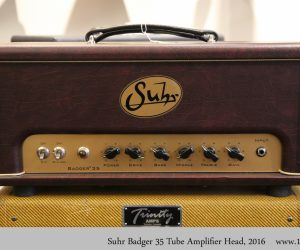 ❌SOLD❌  Suhr Badger 35 Tube Amplifier Head, 2016