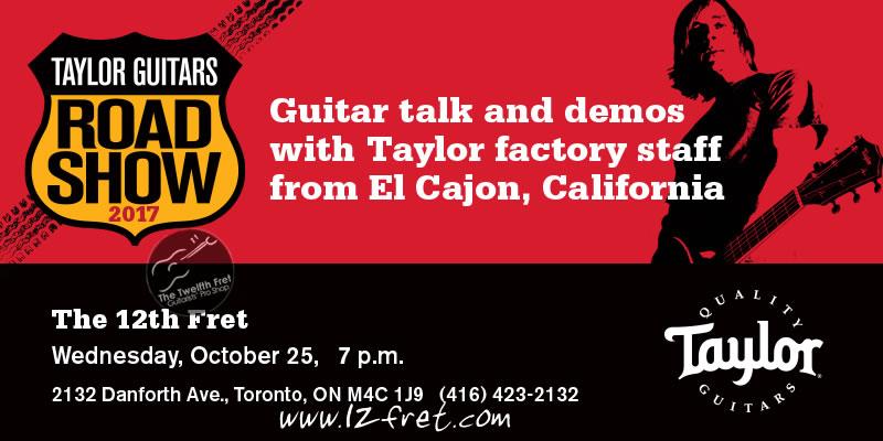 Taylor Guitars Road Show Event - the Twelfth Fret