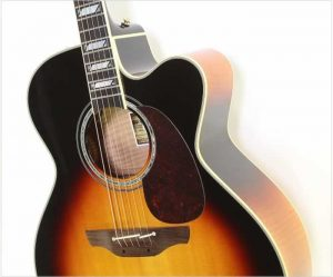 Takamine Toby Keith EF250TK Sunburst, 2016 - The Twelfth Fret