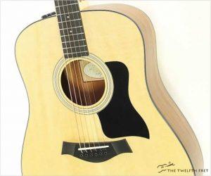 Taylor 110e Dreadnought Steel String Guitar, Natural