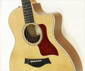 Taylor 214ce CF DLX Cutaway Steel String Guitar