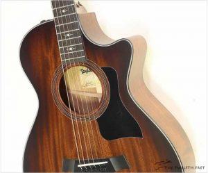 Taylor 322ce 12 Fret Grand Concert Guitar Edgeburst - The Twelfth Fret