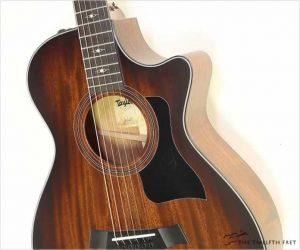 Taylor 322ce 12 Fret Grand Concert Guitar Edgeburst