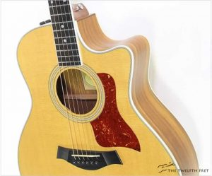 Taylor 416ce Ovangkol Grand Symphony Natural, 2011 - The Twelfth Fret