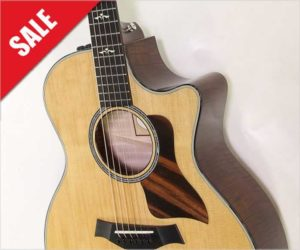 ‼️Off The MAP Sale‼️  Save $1299. - Taylor 614ce Maple Cutaway Steel String Guitar, 2014