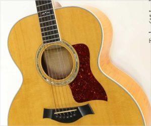 Taylor 615 Jumbo Maple Steel String Guitar Natural, 1995