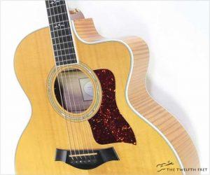 ⚌Reduced‼  Taylor 615ce Jumbo Cutaway Acoustic Natural, 2000