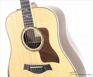Taylor 810e DLX Dreadnought Steel String Natural, 2016