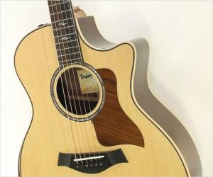Taylor 814ce DLX Steel String Guitar, Natural