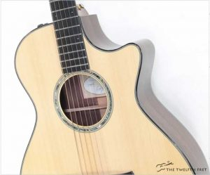 Taylor Custom TF Grand Concert Adirondack and Indian Rosewood, 2014 - The Twelfth Fret