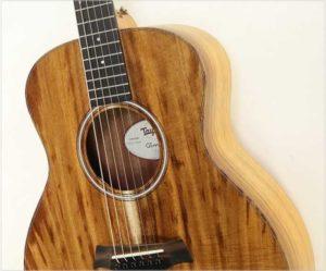 Taylor GS Mini-e Koa Steel String Guitar - The Twelfth Fret