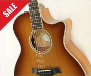 ❌ Sold ❌  Taylor K14ce Koa Cutaway Steel String Guitar, 2015
