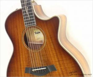 Taylor K24ce Koa Body Steel String Guitar