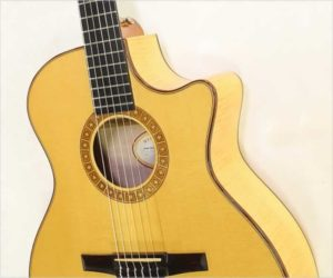 ❌Sold❌ Taylor NS64ce Nylon String Cutaway Guitar Natural, 2008