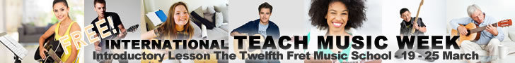 Teach Music Week - Free Introductory Lesson - The Twelfth Fret