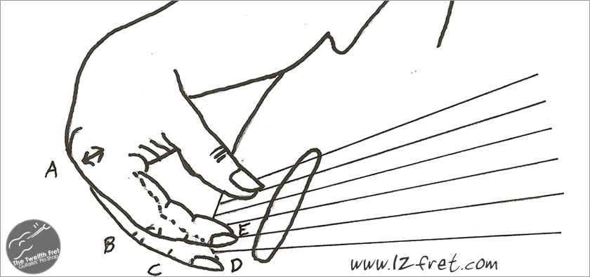 The Right Hand and Harmonic Support - the Twelfth Fret