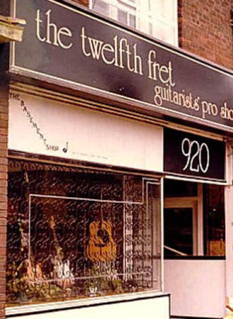 The Twelfth Fret Store Front 1977