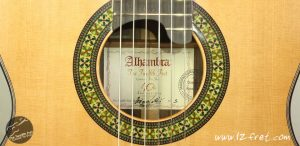 The Twelfth Fret 40th Anniversary Alhambra Guitar Exótico Limited Edition