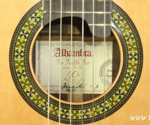 The Twelfth Fret 40th Anniversary Alhambra Guitar, Model 11P Exótico Limited Edition