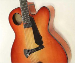 Thomas Ribbecke Halfling Archtop Guitar Red Sunburst 2009