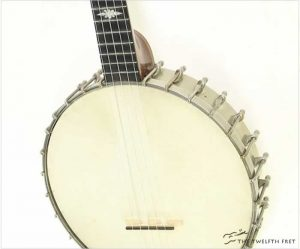 Thompson & Odell Luscomb 5 String Openback Banjo 1890s