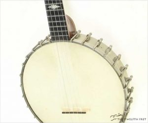❌SOLD❌Thompson & Odell Luscomb 5 String Openback Banjo 1890s