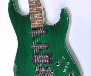 SOLD!!! Tom Anderson Pro Am Trans Forest Green 1997