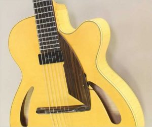 Tony Duggan Smith Mystic Short Scale Archtop Blonde, 1995