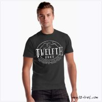 The Twelfth Fret Crest T-Shirt in Bamboo Stretch