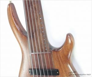 VR Custom Six String Fretless Bass by Vadim Rubtsov Natural, 1994